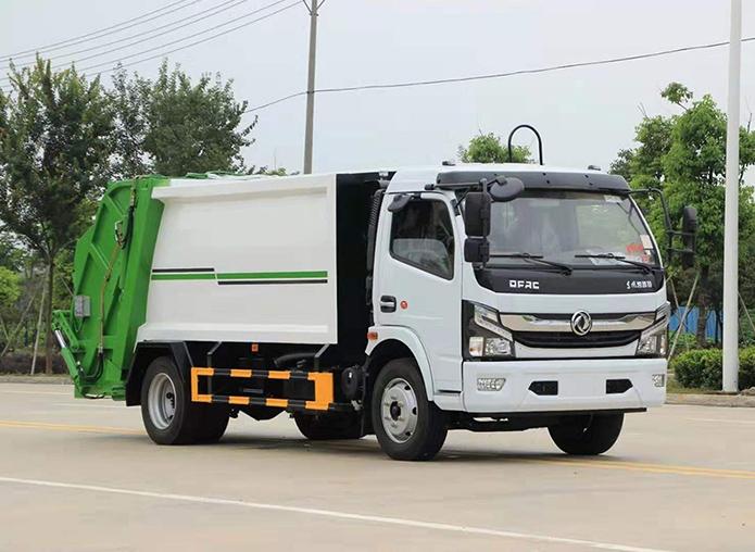 国六·东风凯普特【8方】压缩垃圾车
